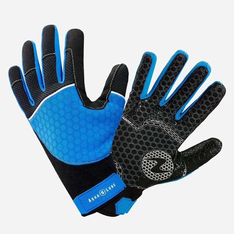 Velocity Gloves, Blue/Black, hi-res image number 0