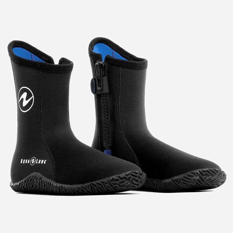 3mm Echozip Boots, Black/Blue, hi-res image number 0