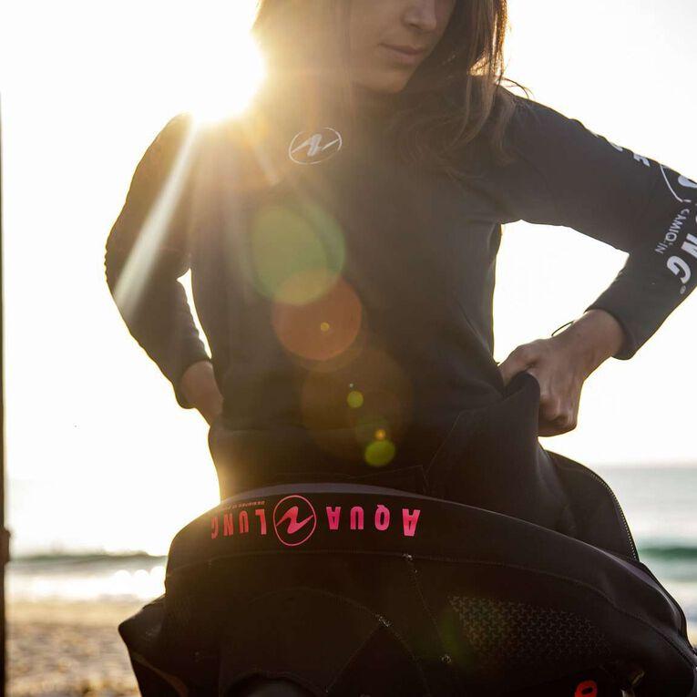 Blizzard Pro Drysuit, Black/Coral, hi-res image number 4