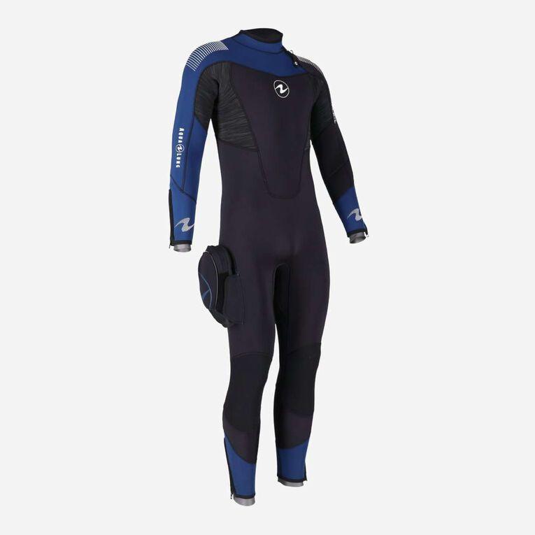 DynaFlex 5.5mm Wetsuit Men, Schwarz/Marineblau, hi-res image number 3