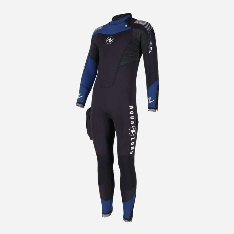 DynaFlex 5.5mm Wetsuit Men, Schwarz/Marineblau, hi-res image number 1