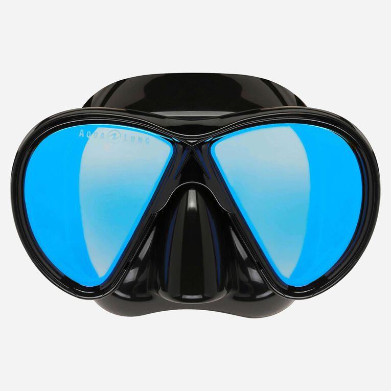 Horizon blue mirror lens, Black/Lenses blue, hi-res image number 1