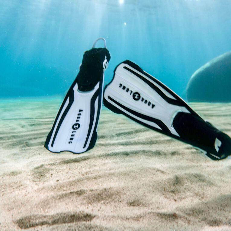 Amika Snorkeling Fins, White/Black, hi-res image number 2