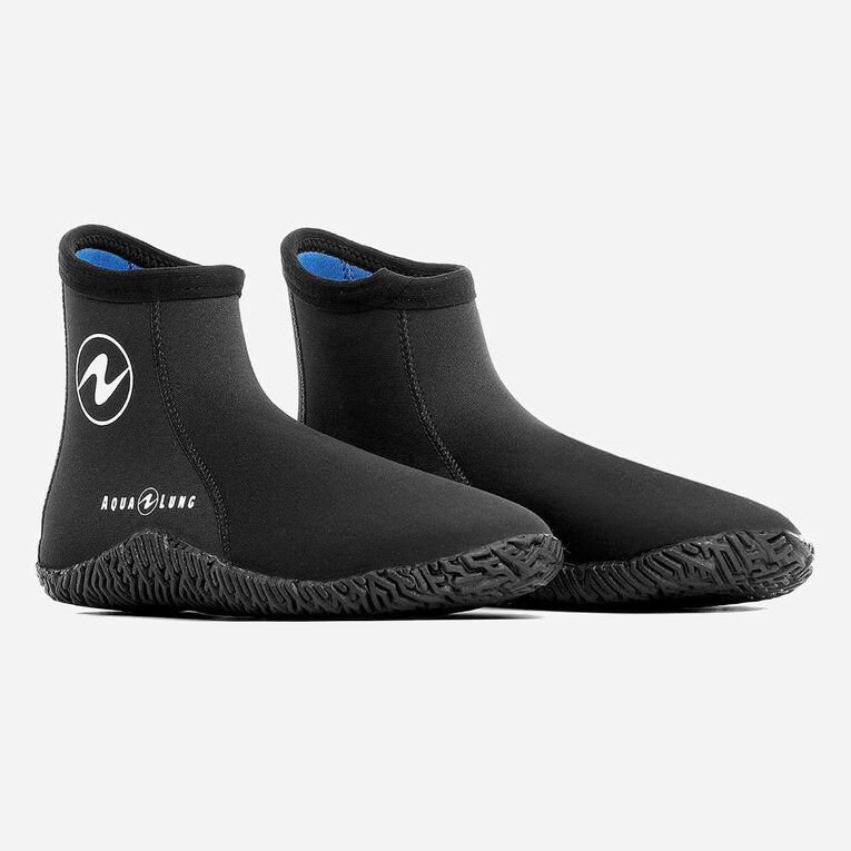 5mm Echomid Boots, Black/Blue, hi-res image number 0