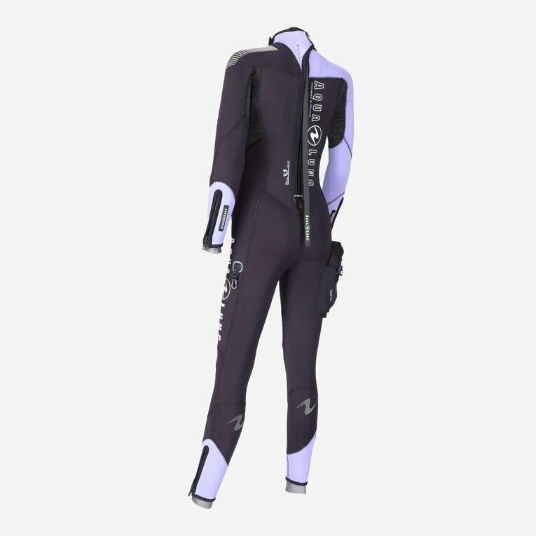 DynaFlex 5.5mm Wetsuit Women, Schwarz/Lila, hi-res image number 3