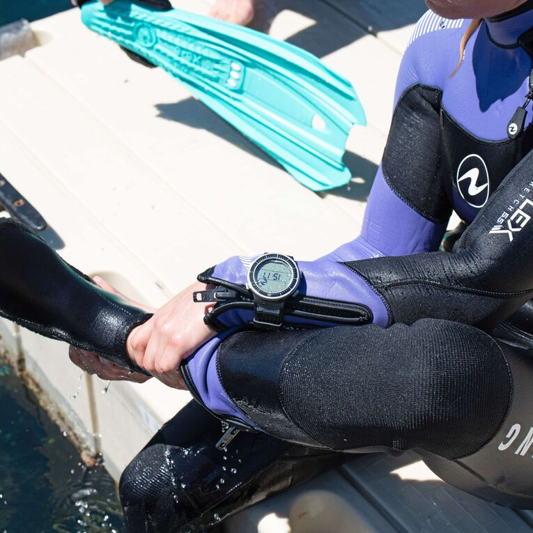 DynaFlex 5.5mm Wetsuit Women, Schwarz/Lila, hi-res image number 5