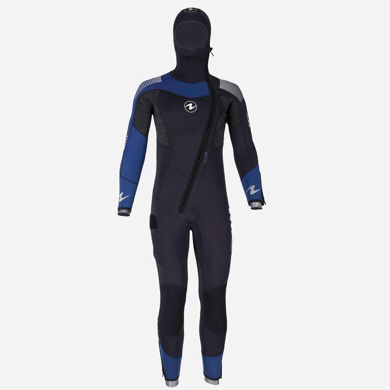 DynaFlex 6.5mm Wetsuit with Hood Men, Black/Navy blue, hi-res image number 0