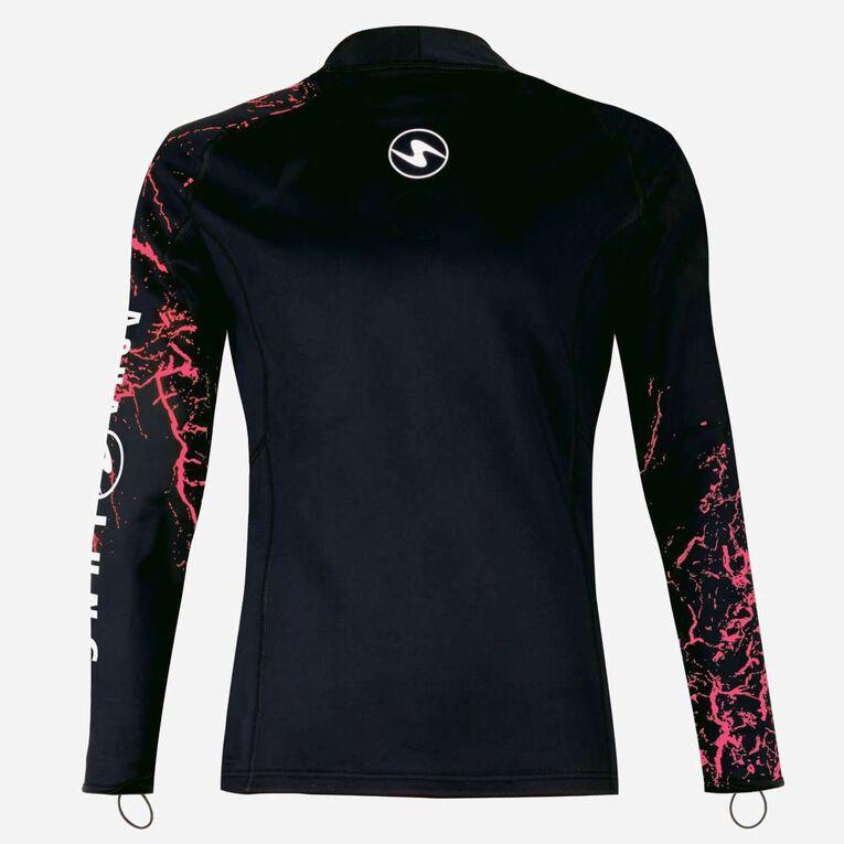CeramiQskin Long Sleeves Top Women, Black/Coral, hi-res image number 1