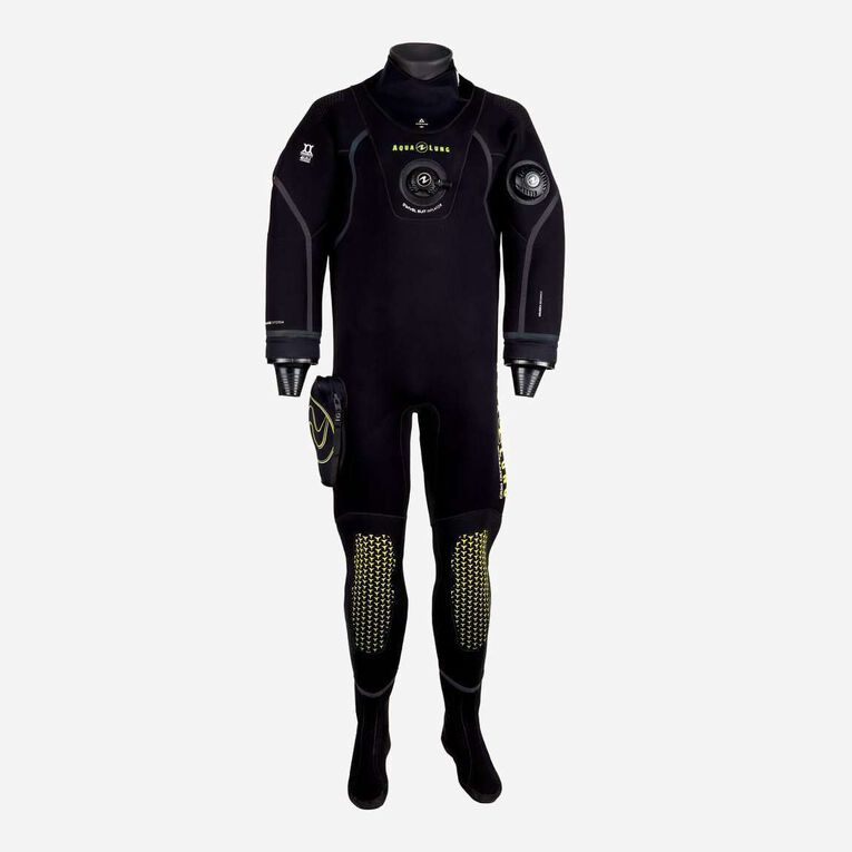 Blizzard Pro Drysuit, Black/Hot lime, hi-res image number 0