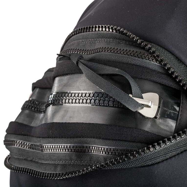Fusion Bullet Drysuit, Black/White, hi-res image number 1