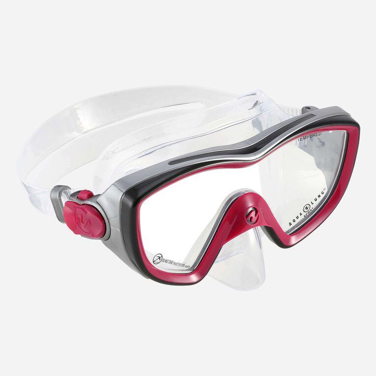 Bonita Snorkeling mask Women, Dark pink/Black, hi-res image number 0