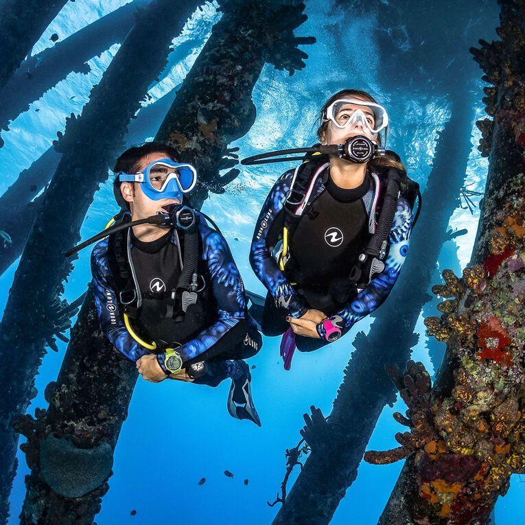 HydroFlex 1mm Coral Guardian Wetsuit Men, Black/Blue, hi-res image number 4