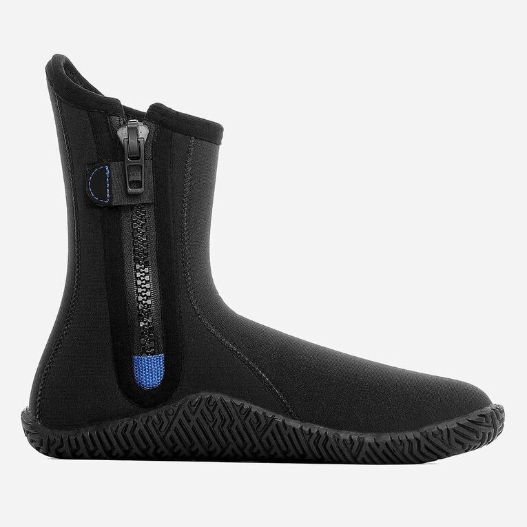 5mm Echozip Boots Youth, Schwarz/Blau, hi-res image number 2