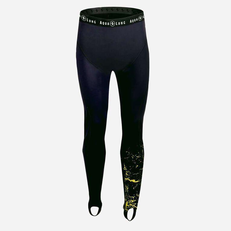 CeramiQskin Pants Men, Schwarz/Hot Lime, hi-res image number 0