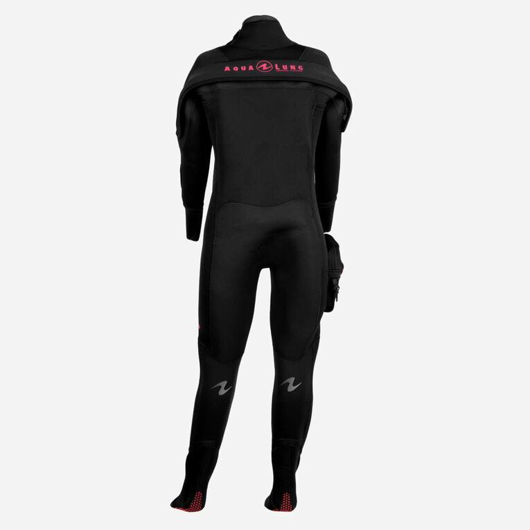 Blizzard Pro Drysuit, Black/Coral, hi-res image number 1