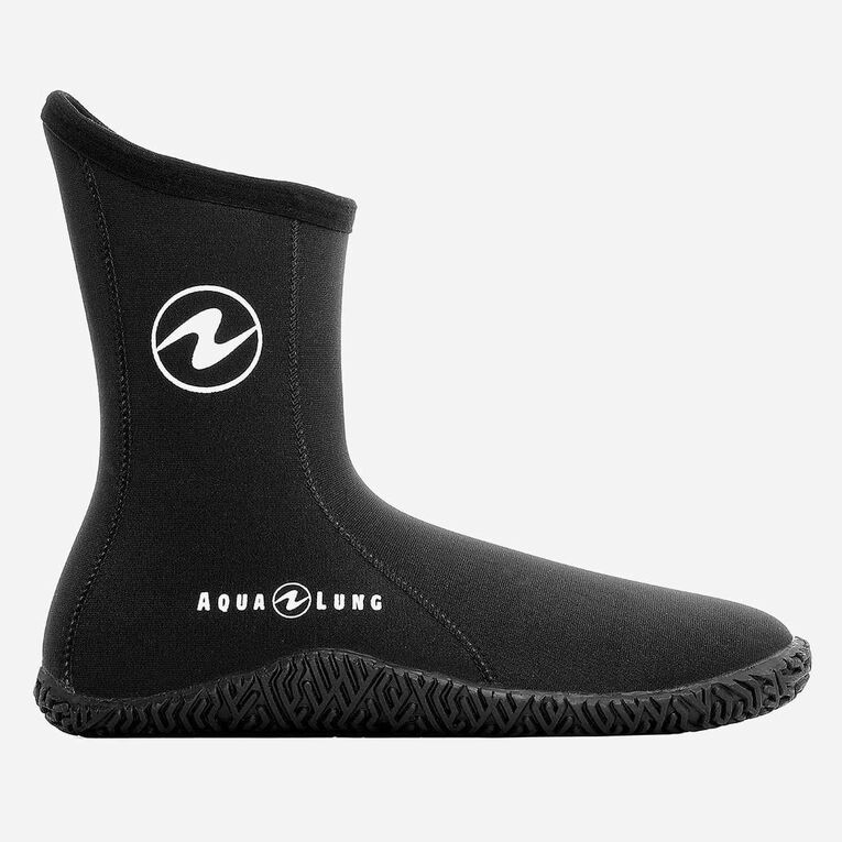 5mm Echozip Boots Youth, Schwarz/Blau, hi-res image number 1