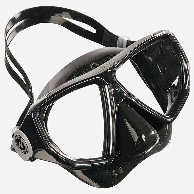 Oyster Snorkeling mask, Black/Dark grey, hi-res image number 0