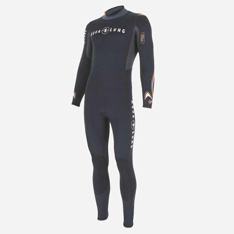 Dive 3mm Wetsuit, Black/Orange, hi-res image number 2