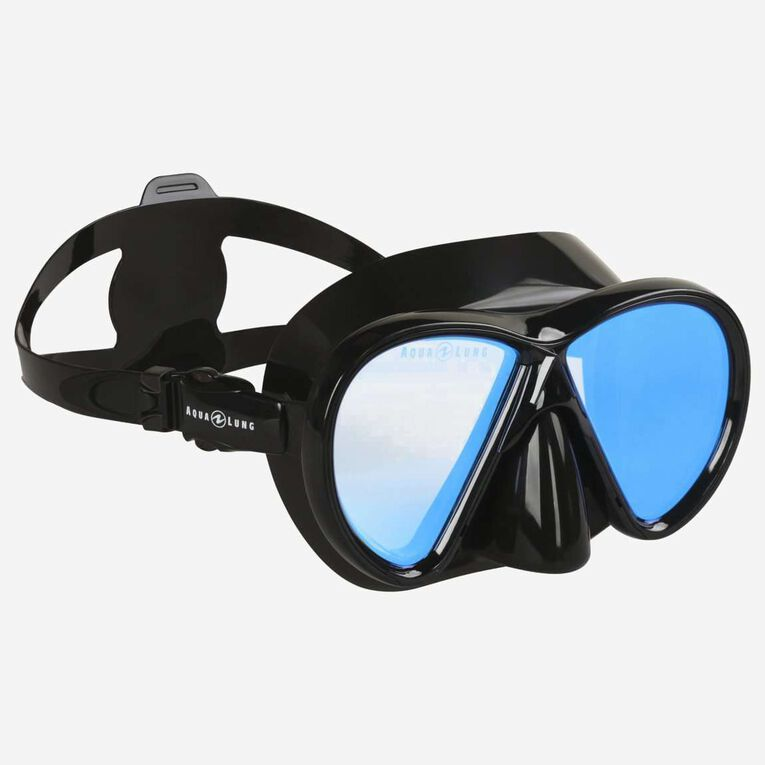 Horizon blue mirror lens, Black/Lenses blue, hi-res image number 0
