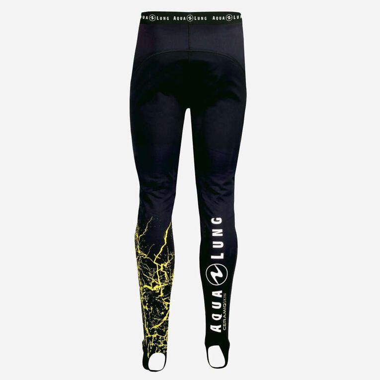 CeramiQskin Pants Men, Black/Hot lime, hi-res image number 1