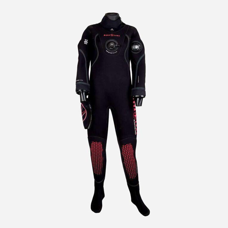 Blizzard Pro Drysuit, Schwarz/Koralle, hi-res image number 0