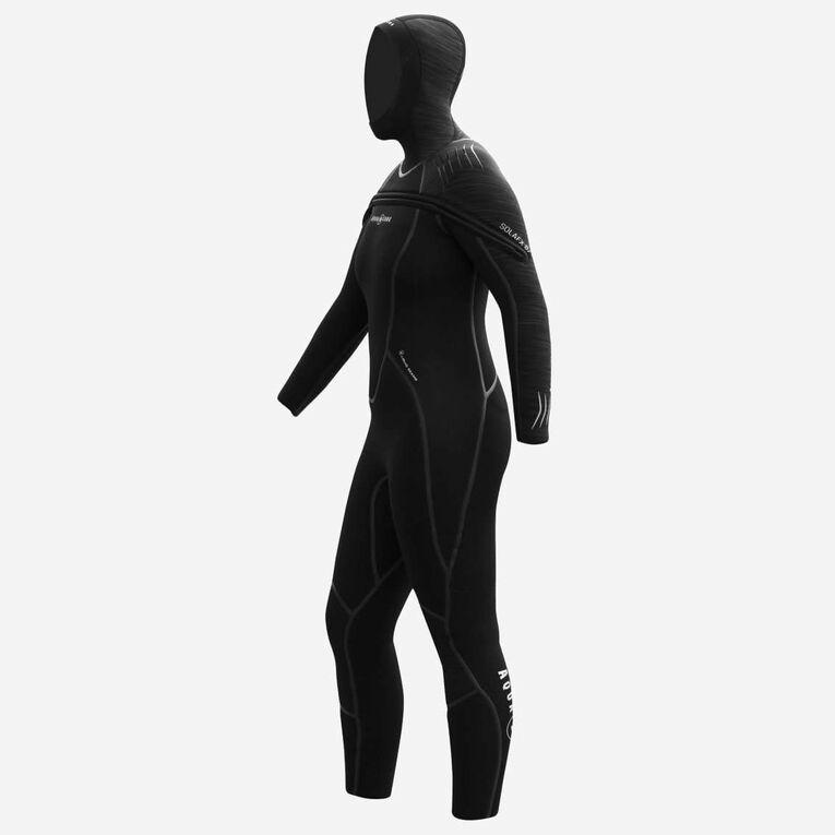 SolAfx 8/7mm Wetsuit Women, Black, hi-res image number 3